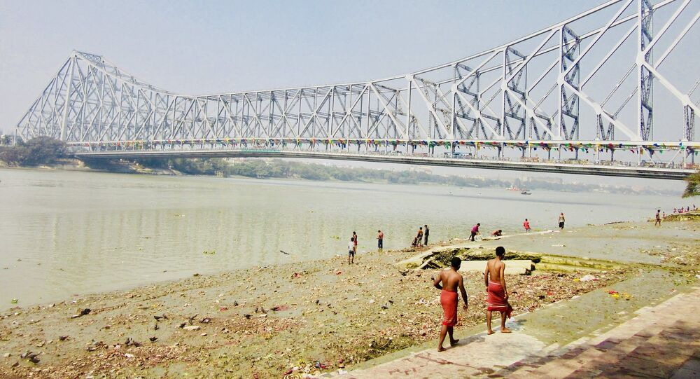 Ghats on the Hooghly River