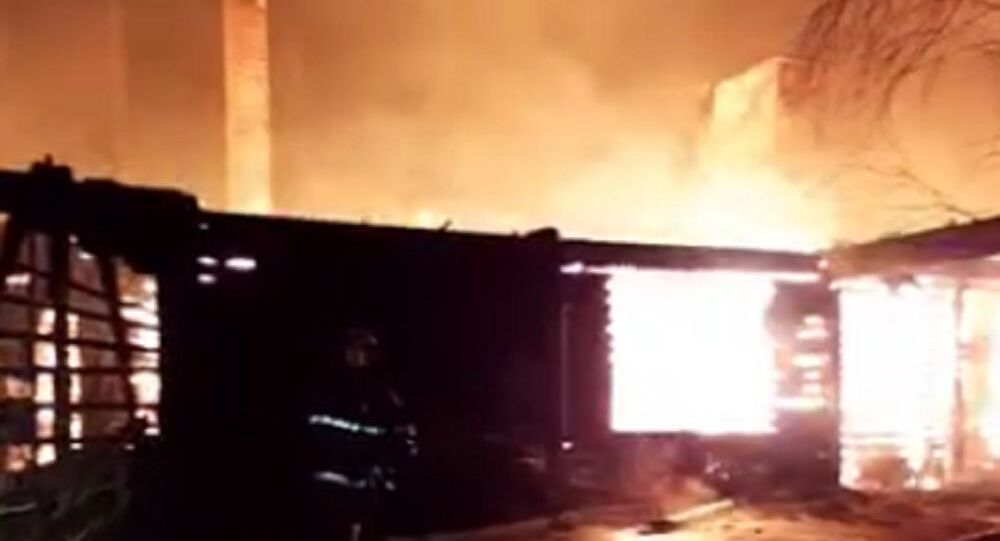 Moscow Region Gulf Club Restaurant Goes Up In Flames