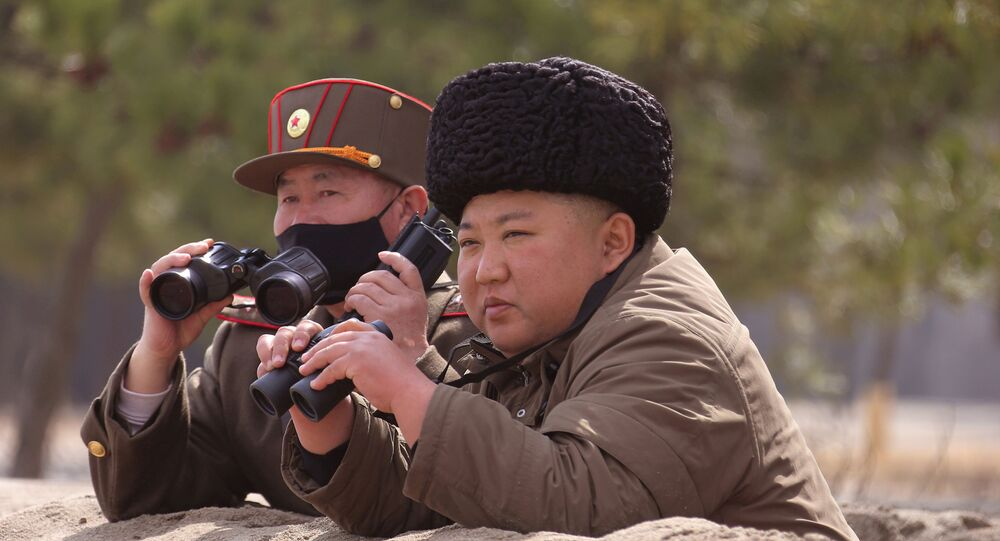 North Korean leader Kim Jong Un is seen in this undated picture released by North Korea's Korean Central News Agency