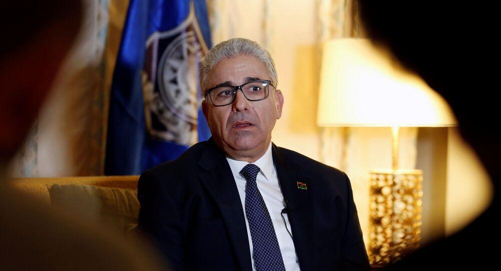 Libya's interior minister Fathi Bashagha