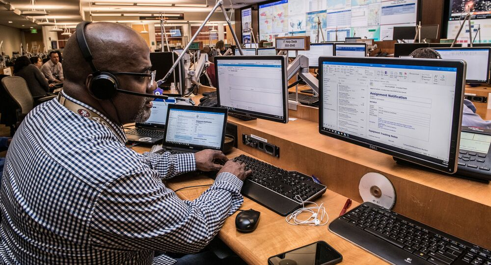Centers for Disease Control and Prevention (CDC) staff support the COVID-19 (novel coronavirus) response in the CDC?s Emergency Operations Center (EOC) in an image obtained from the CDC in Atlanta