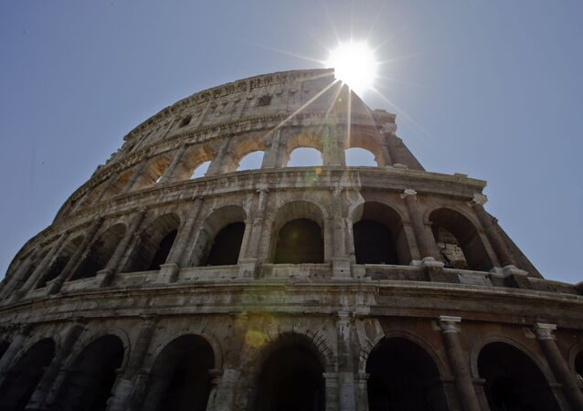 A view of the Colosseum after the first stage of the restoration work was completed in Rome, Friday, July 1st, 2016. The Colosseum has emerged more imposing than ever after its most extensive restoration, a multi-million-euro cleaning to remove a dreary, undignified patina of soot and grime from the ancient arena, assailed by pollution in traffic-clogged Rome. (AP Photo/Andrew Medichini)