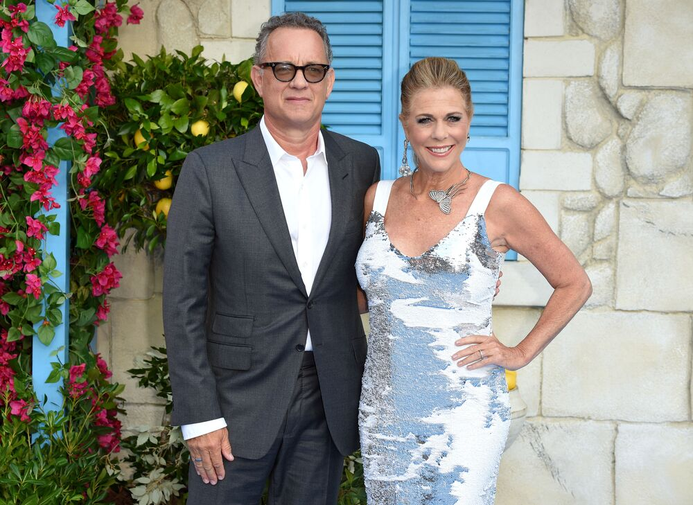 Hollywood actor Tom Hanks with his wife Rita Wilson did not escape the coronavirus fate