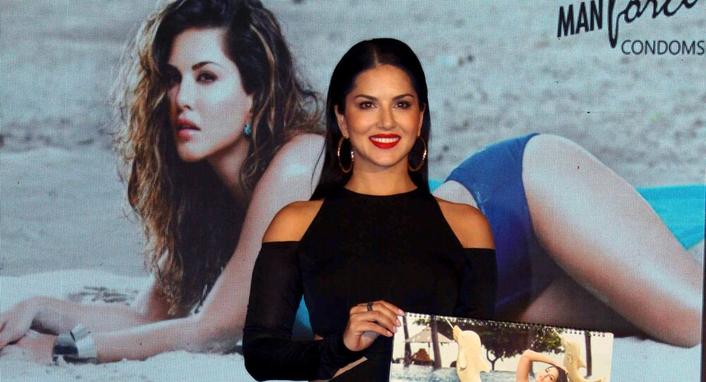 Indian Bollywood actress Sunny Leone attends the launch of the Masti Calendar in Mumbai on July 11, 2016.