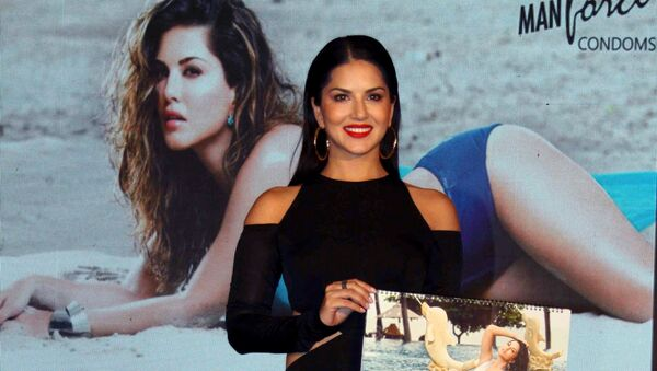 Indian Bollywood actress Sunny Leone attends the launch of the Masti Calendar in Mumbai on July 11, 2016. - Sputnik International