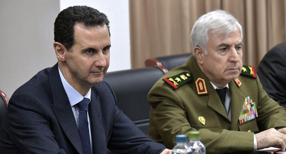 Syrian Defence Minister Ali Abdullah Ayyoub