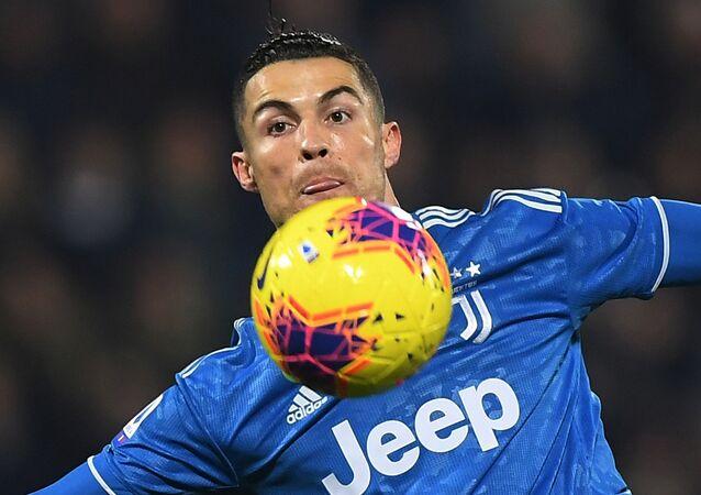 Soccer Football - Serie A - SPAL v Juventus - Paolo Mazza, Ferrara, Italy - February 22, 2020  Juventus' Cristiano Ronaldo in action