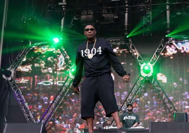 Jay Electronica performs at The Budweiser Made In America Festival on Saturday, Sept. 3, 2016, in Philadelphia