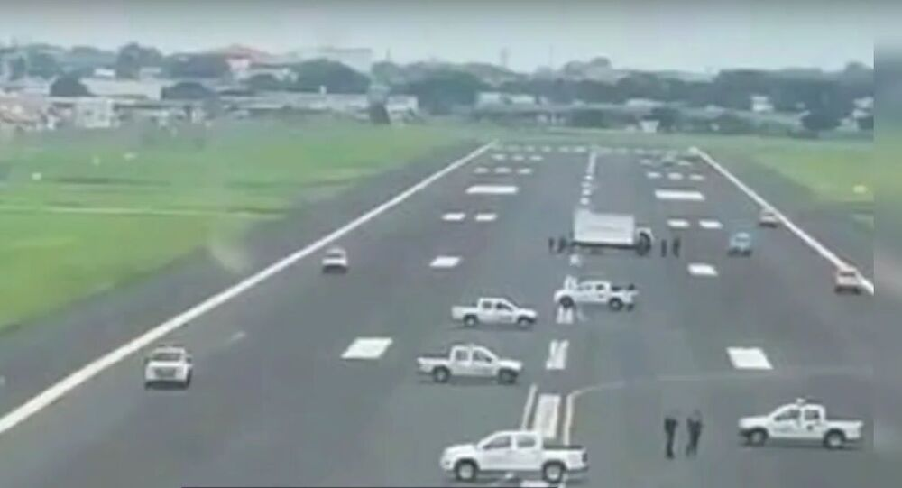 Runway Blocked by Officials at Olmedo International Airport | COVID-19 Effect