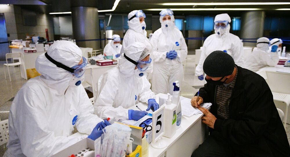 Strengthening sanitary control at Vnukovo airport in connection with coronavirus