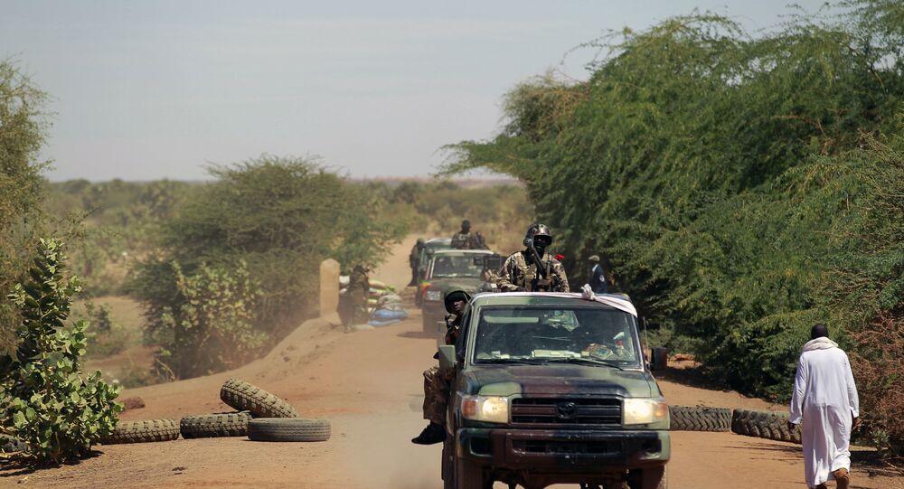 Malian soldiers in Gao, northern Mali