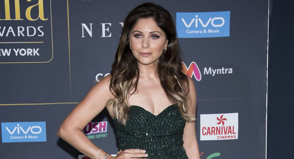 Kanika Kapoor attends the 2017 International Indian Film Academy Festival's IIFA Awards at MetLife Stadium on Saturday, July 15, 2017, in East Rutherford, N.J.