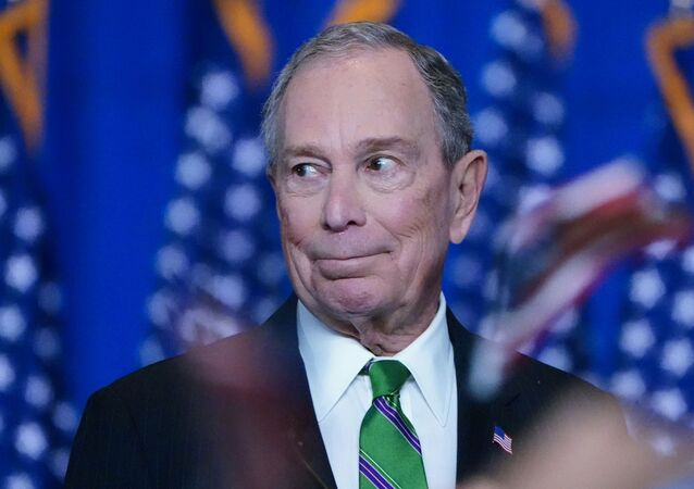 ormer Democratic U.S. presidential candidate Mike Bloomberg appears before supporters after ending his campaign for president in Manhattan in New York City, New York, U.S., March 4, 2020