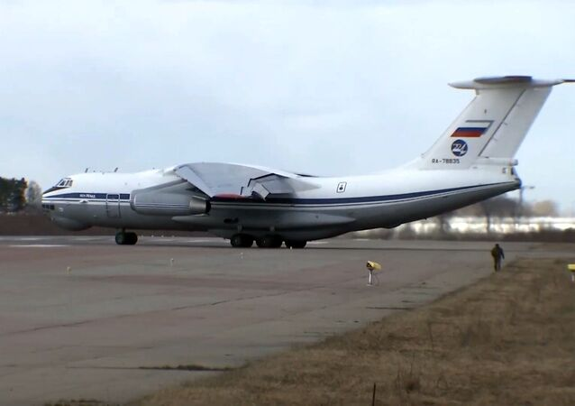 Russia provides help to Italy amid the outbreak of COVID-19