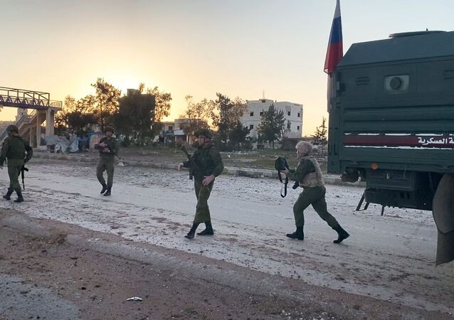 Russian military police in Idlib