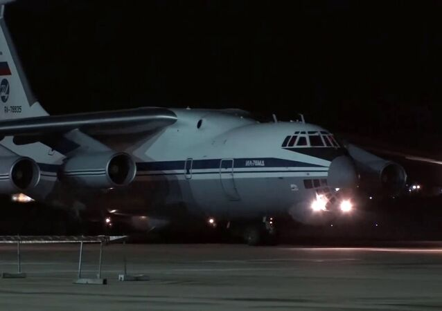 Russia sends humanitarian aid to Italy to help it fight COVID-19 coronavirus outbreak