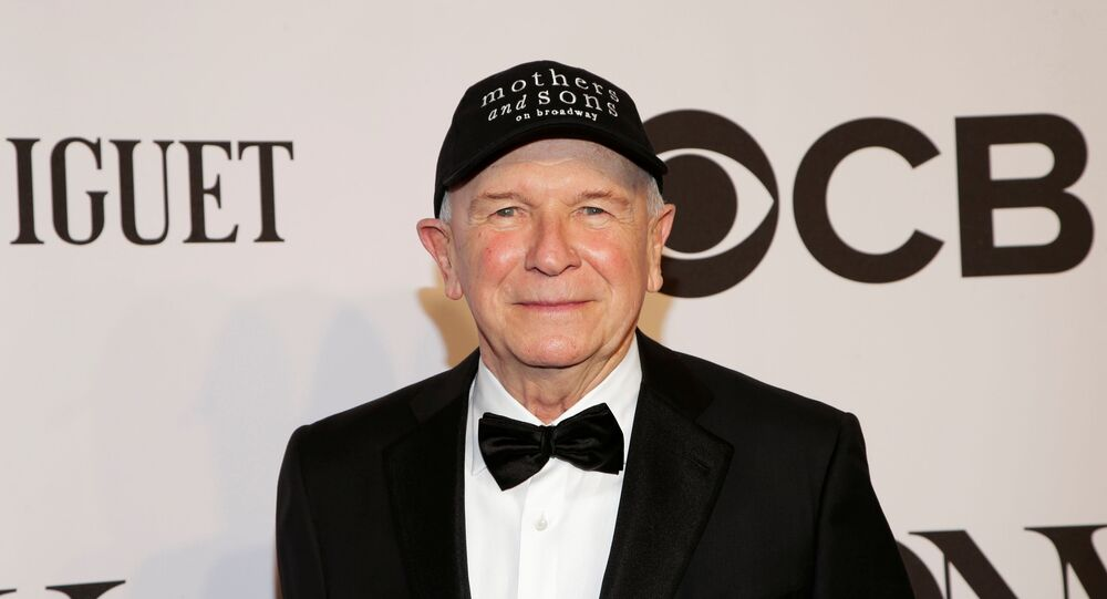 Playwright Terrence McNally arrives for the American Theatre Wing's 68th annual Tony Awards at Radio City Music Hall in New York, June 8, 2014.