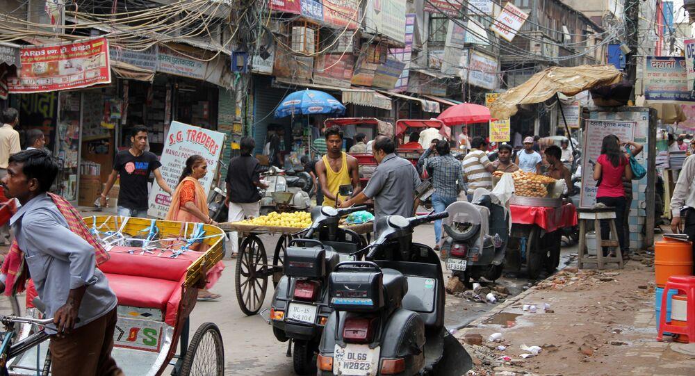 Streets in Delhi