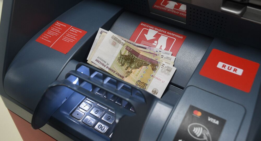 ATM Alfa-Bank in Moscow