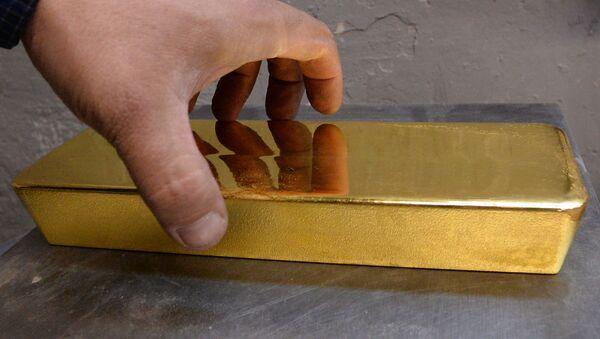 Gold bar - Sputnik International