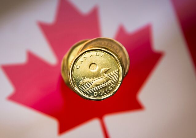 A Canadian dollar coin, commonly known as the Loonie, is pictured in this illustration picture taken in Toronto, January 23, 2015.