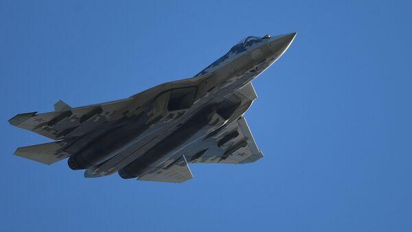 Russian Su-57 fifth-generation fighter jet - Sputnik International