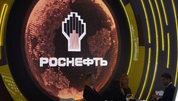 Russian Rosneft oil company's logo - Sputnik International