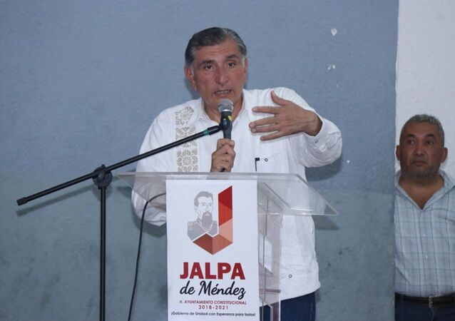 Governor of AMLO's Home State of Tabasco, Adán Augusto López Hernández