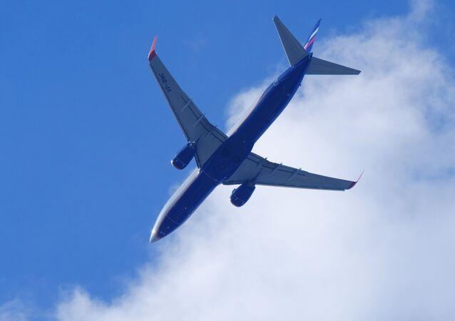 Boeing 737, belonging to Russia's Aeroflot