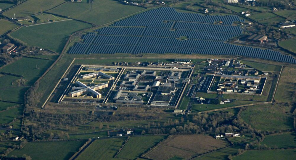 HM Prison Maghaberry , 3 km from Ballinderry Upper, Northern Ireland