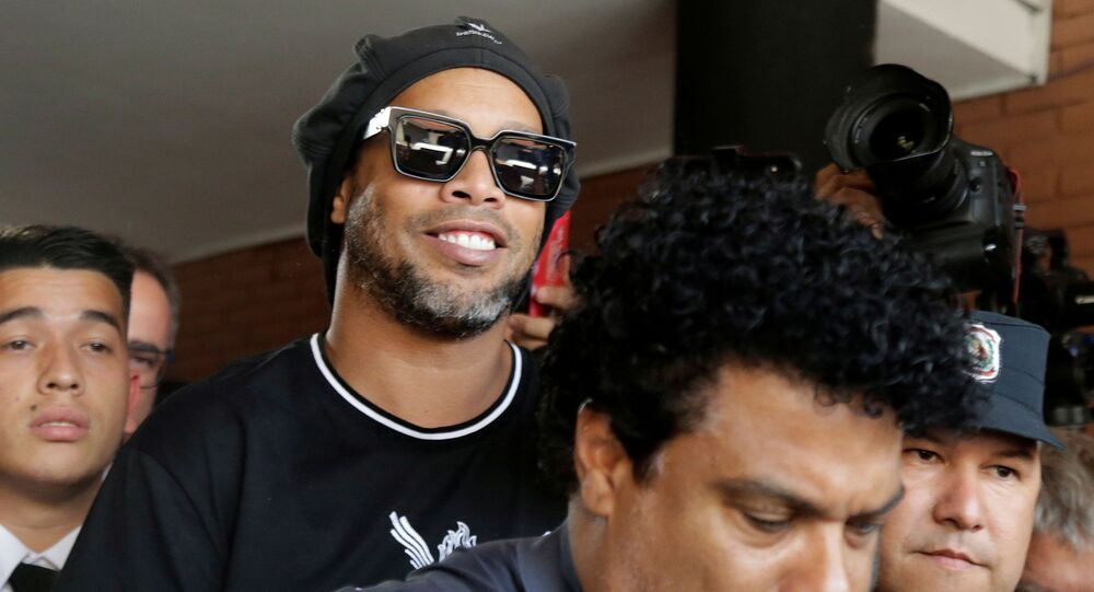 Paraguay police question Ronaldinho over alleged 'adulterated' passport - Paraguayan Public Ministry, Asuncion, Paraguay - March 5, 2020