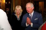 Britain's Prince Charles and Camilla, Duchess of Cornwall attend the Commonwealth Reception at Marlborough House, in London, Britain March 9, 2020