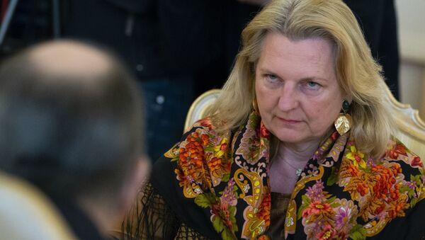 Austrian Foreign Minister Karin Kneissl  (File) - Sputnik International