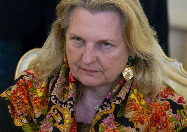 Austrian Foreign Minister Karin Kneissl  (File)