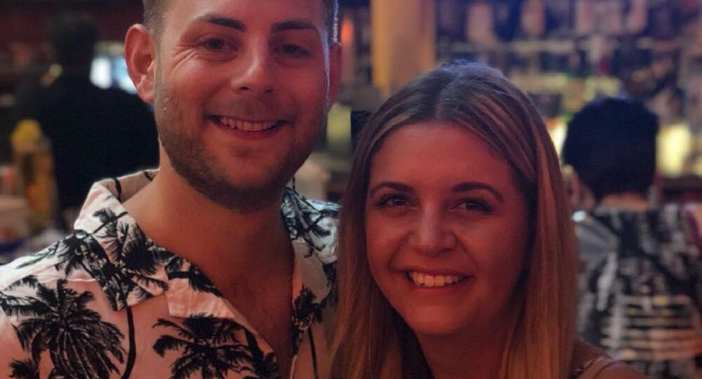 Liam Bove and Becky Dixon