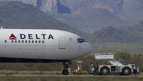 Delta Air Lines airplane at Pinal Airpark in Red Rock, Ariz - Sputnik International