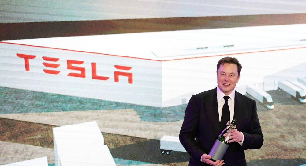 Tesla Inc CEO Elon Musk attends an opening ceremony for Tesla China-made Model Y program in Shanghai, China January 7, 2020