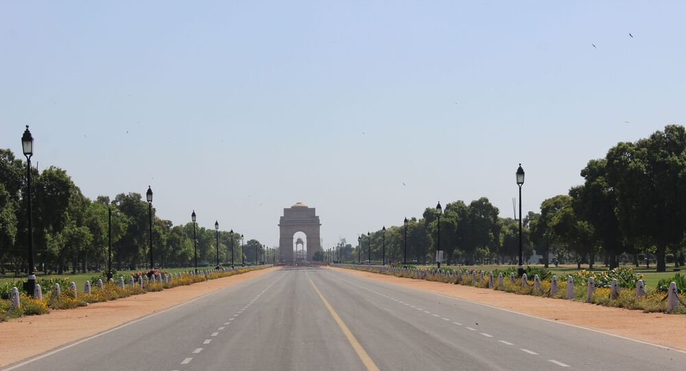 India Gate in the central vista of New Delhi is a memorial for unnamed soldiers, who sacrificed their lives for the nation.