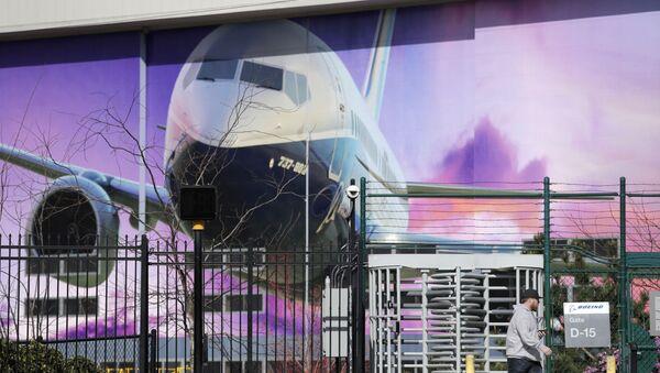 Boeing airplane manufacturing plant outside Seattle, in Renton, Washington - Sputnik International