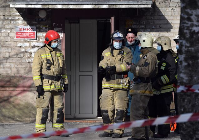 Gas explosion in the residential house in Orekhovo-Zuevo