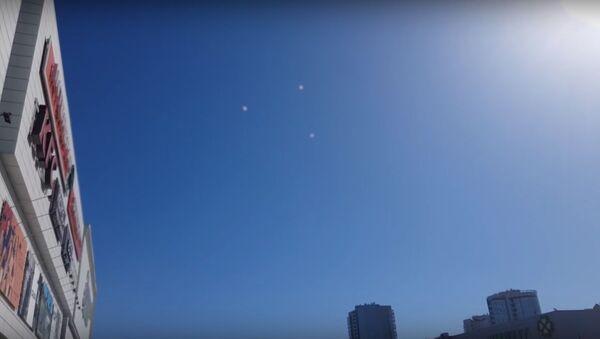 Mysterious objects over Tomsk - Sputnik International