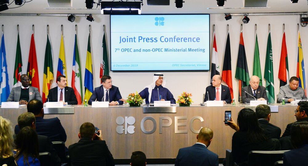 OPEC+ member-states' meeting, 6 December 2019.