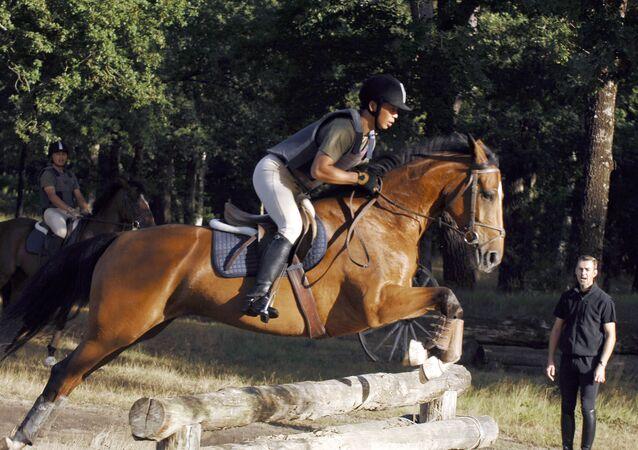 Chinese horse-rider