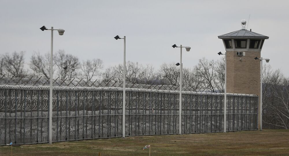 Fences line the exterior of the Southern Ohio Correctional Facility, in Lucasville, Ohio