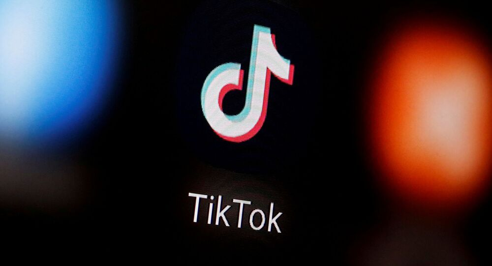 A TikTok logo is displayed on a smartphone in this illustration taken January 6, 2020