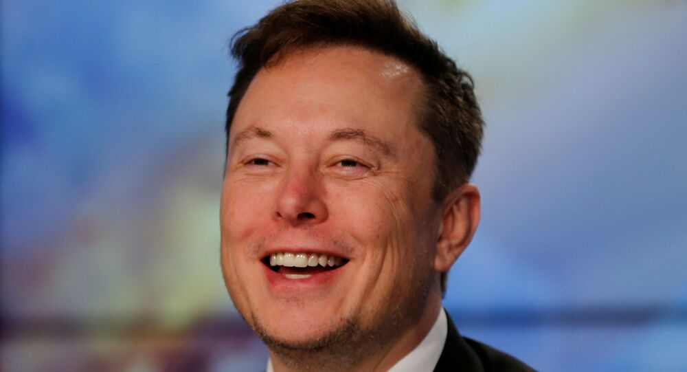SpaceX founder and chief engineer Elon Musk speaks at a post-launch news conference to discuss the SpaceX Crew Dragon astronaut capsule in-flight abort test at the Kennedy Space Center in Cape Canaveral, Florida, U.S. January 19, 2020