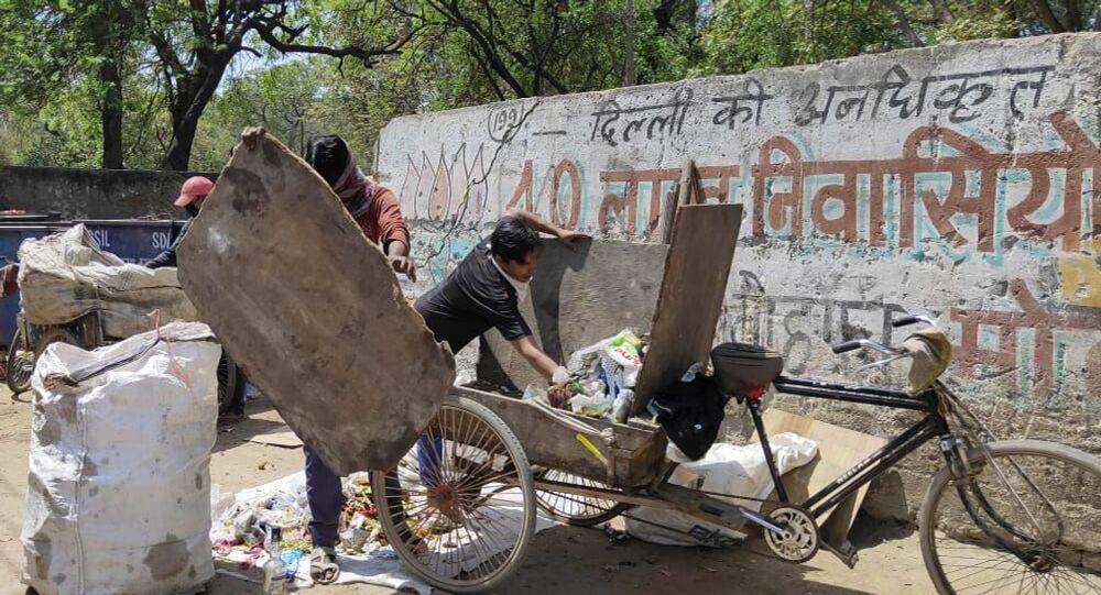 Sanitation Workers in Delhi