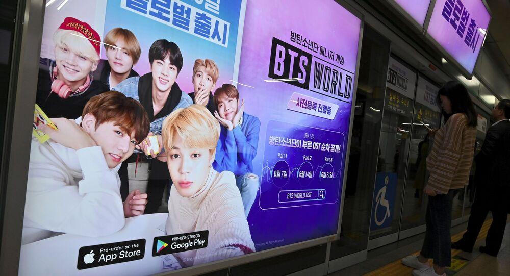 Bts Or Exo Seoul Metro Reveals Most Advertised Idols Of South Korean Subway Sputnik International