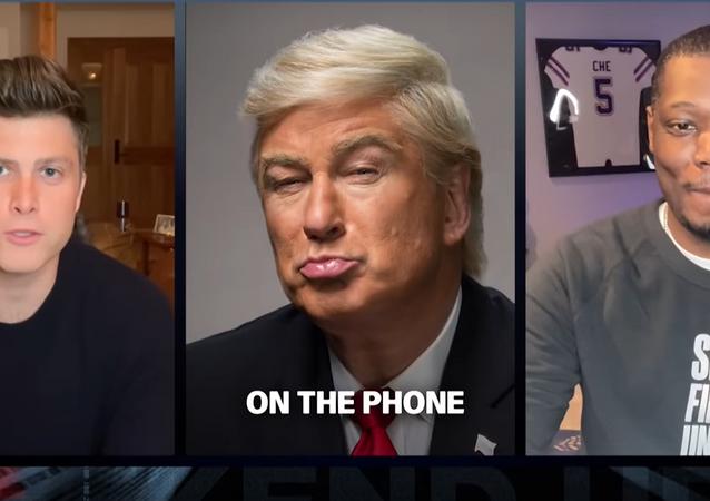 Weekend Update: President Trump Gives Coronavirus Update - SNL