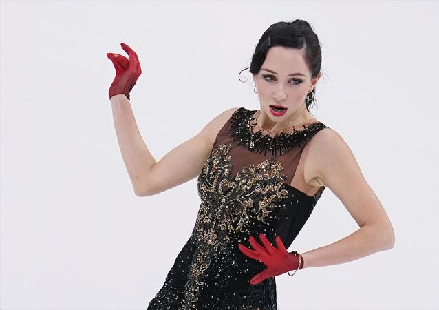 Elizaveta Tuktamysheva figure skating
